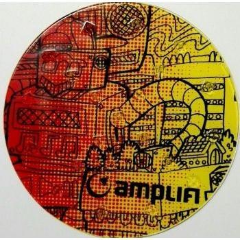 Наклейка На Сноуборд Amplifi 2017-18 Round Stomp Robot