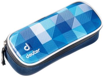 Купить Пенал Deuter School Pencil Case blue arrowcheck Рюкзаки школьные 1073139