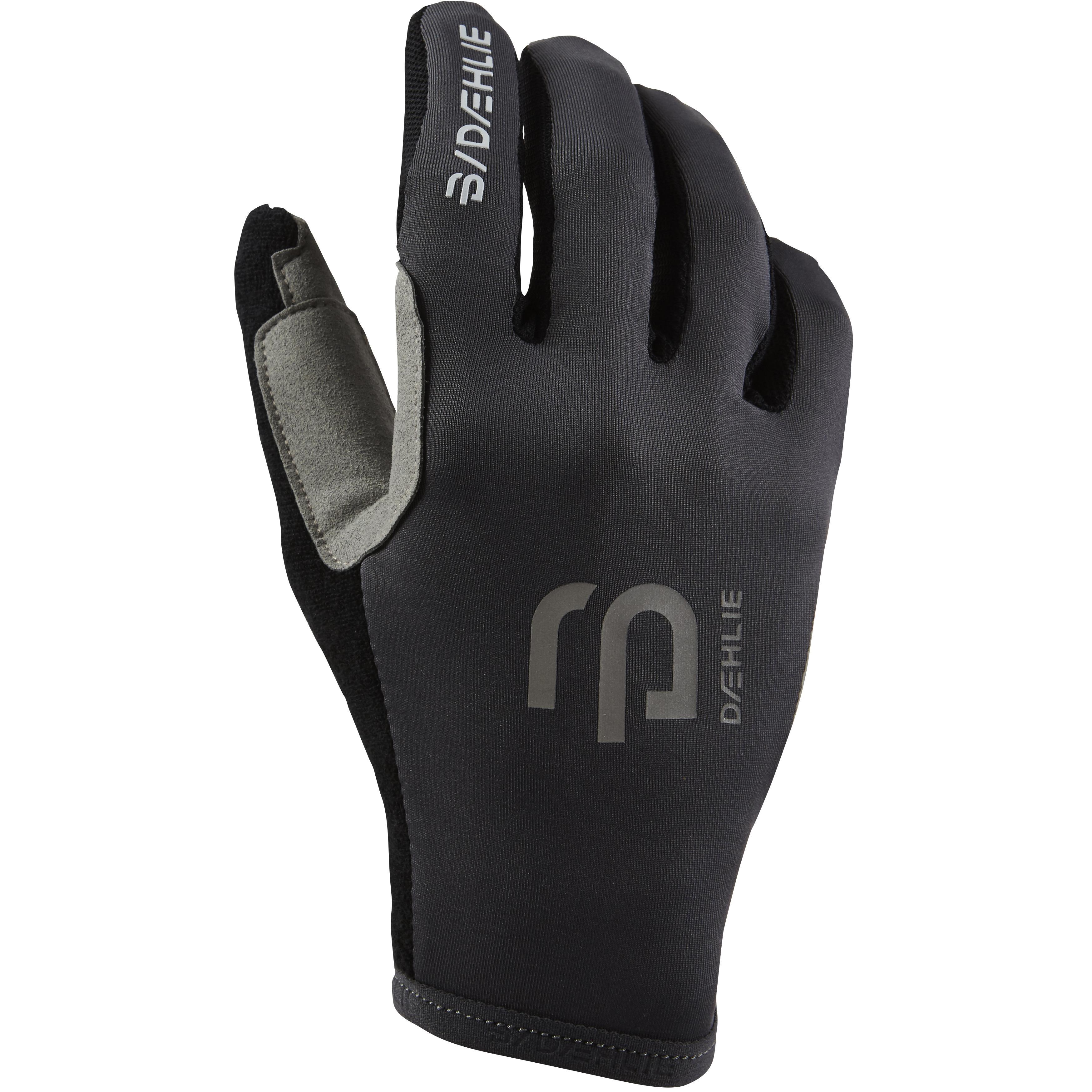 женские перчатки bjorn daehlie, черные