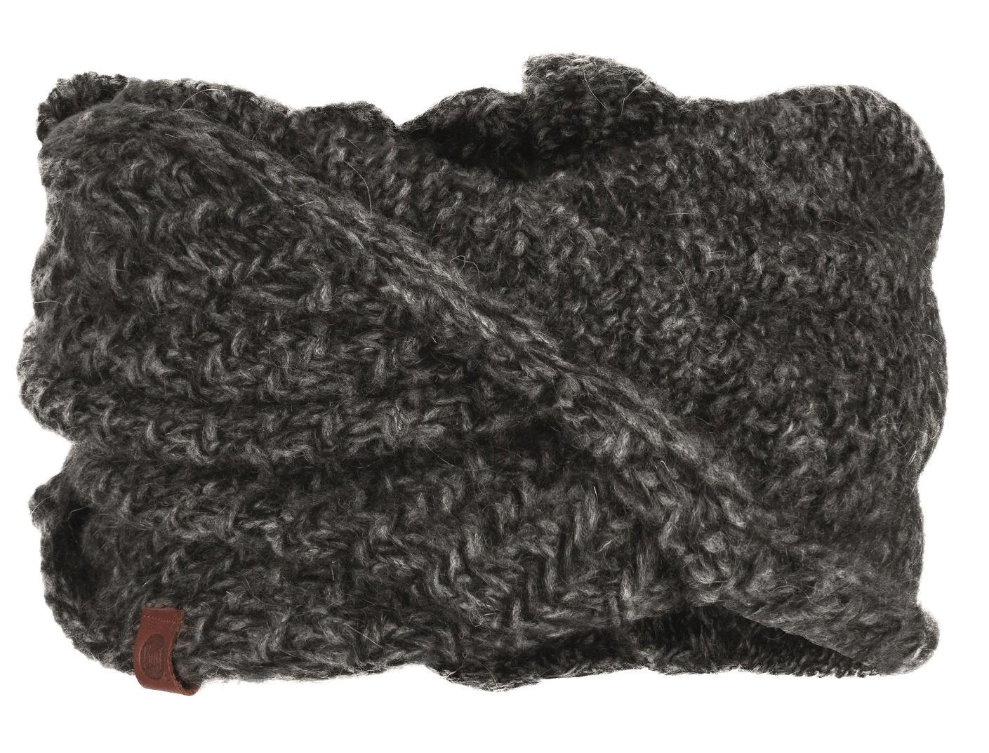 Шарф Buff Knitted Wrap Agna Black