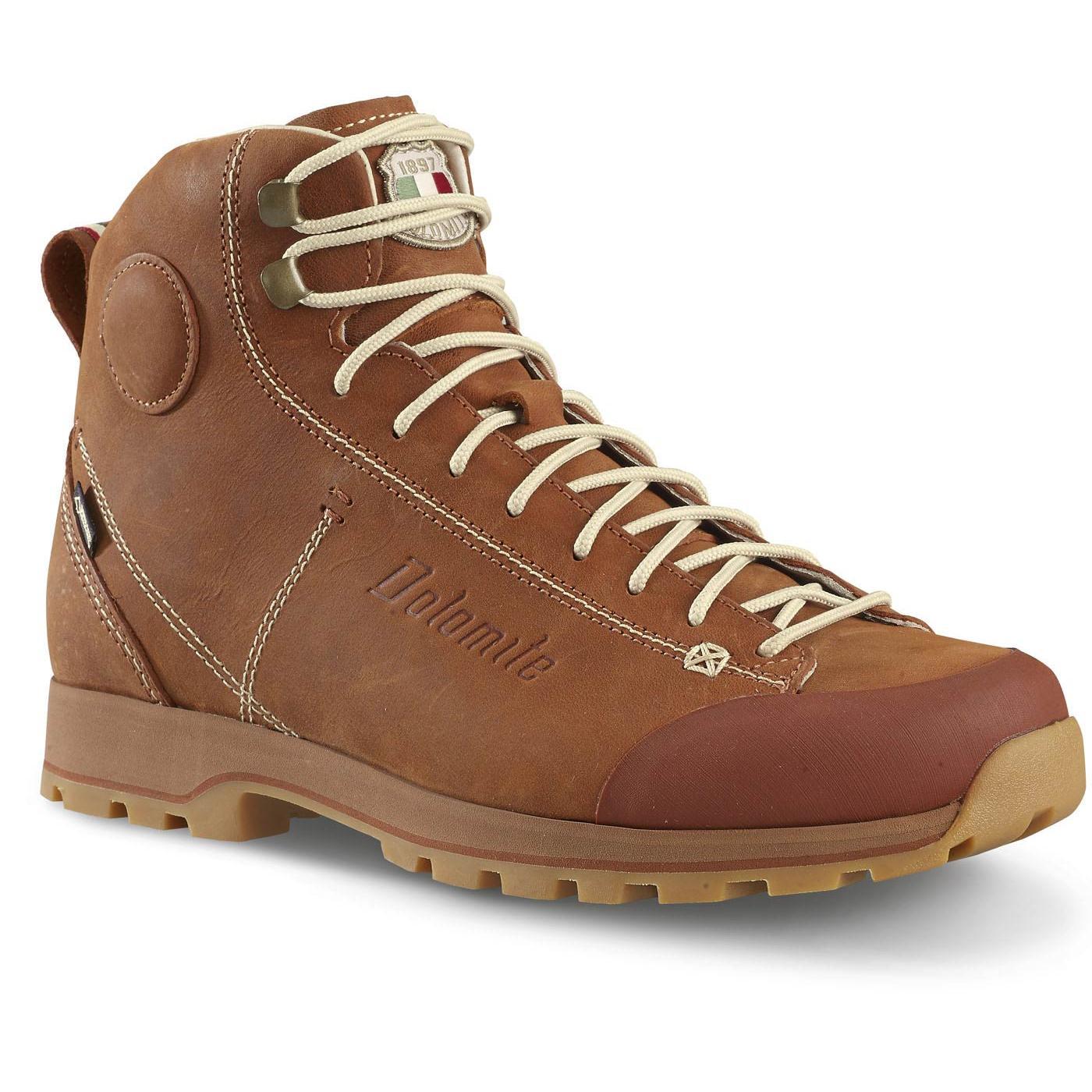 Купить Ботинки городские (высокие) Dolomite 2017-18 Cinquantaquattro High Fg Gtx Chocolate Brown Обувь для города 1356601