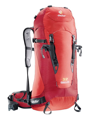 Рюкзак Deuter 2013 Guide lite 32 fire-cranberry