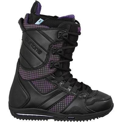 Купить Ботинки для сноуборда BURTON 2010-11 SAPPHIRE black-black-plaid, сноуборда, 671448