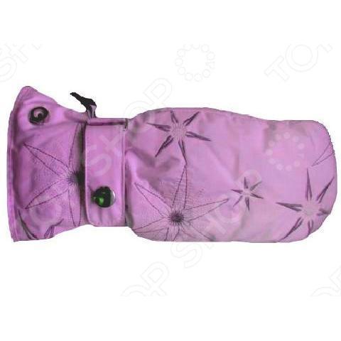 Купить Варежки Glance Gloria Mitten (Pink) Розовый, женский, Перчатки, варежки