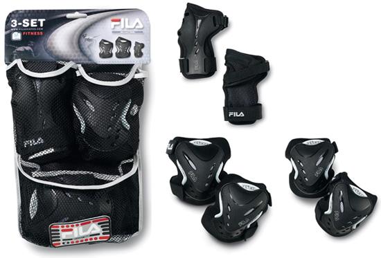 Купить Комплект защиты FILA Взрослая защита 3 предмета Fitness Pad Set Защита 741011