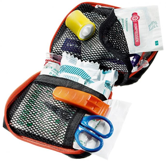 Аптечка Deuter 2018 First Aid Kit Active - Empty Papaya от КАНТ