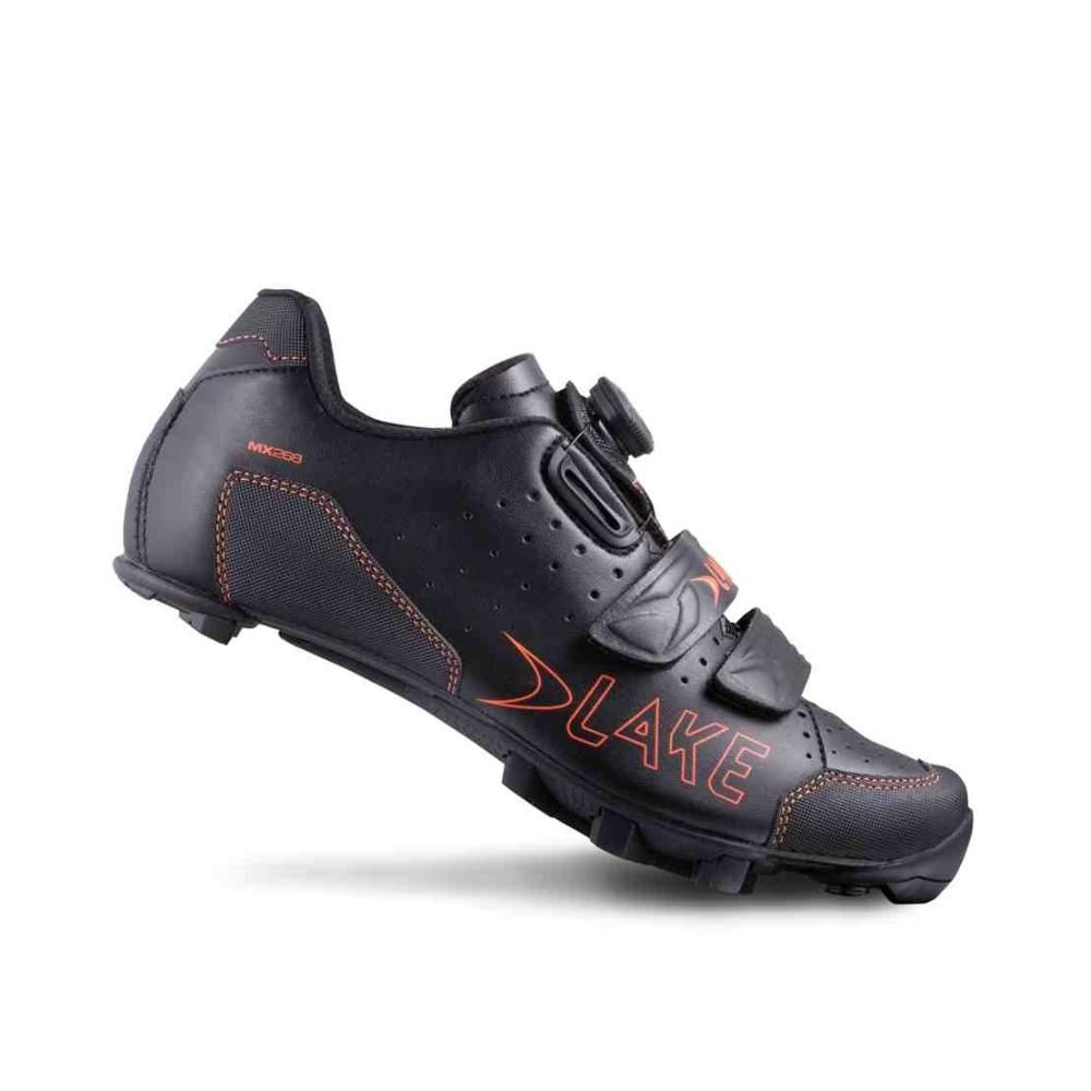 Велообувь Lake 2016 Mtb Mx228 Black/orange