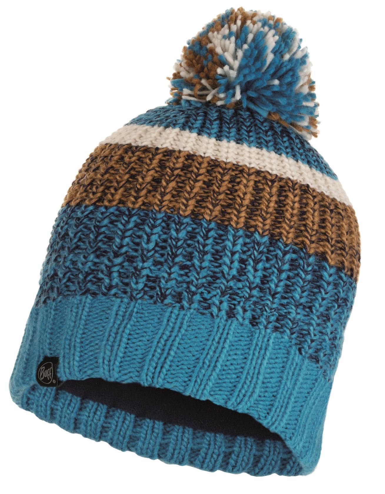 Шапка Buff Knitted & Polar Hat Stig Teal Blue
