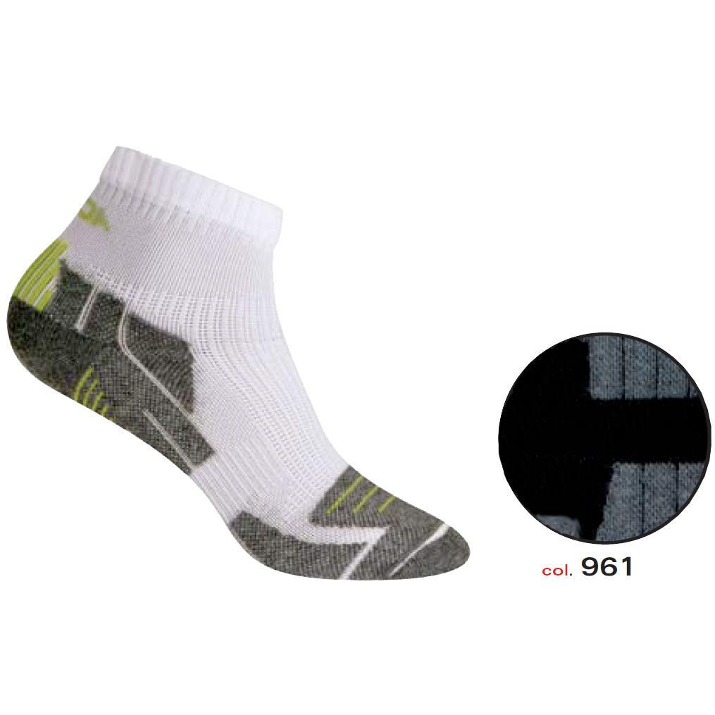 Носки Accapi Socks Running Dry Black/grey (Черный/серый) от КАНТ