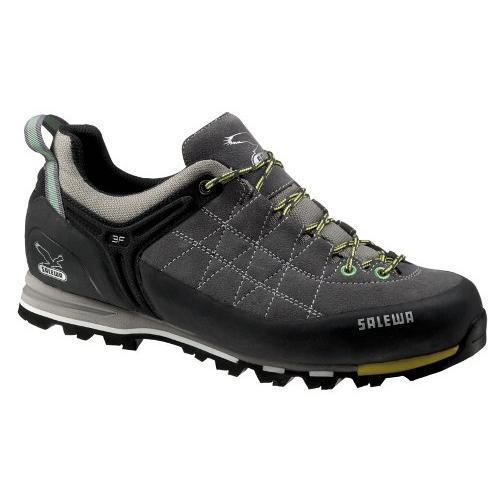 Купить Ботинки для альпинизма Salewa Alpine Approach Mens MS MTN TRAINER smoke-acid lemon, Альпинистская обувь, 896462