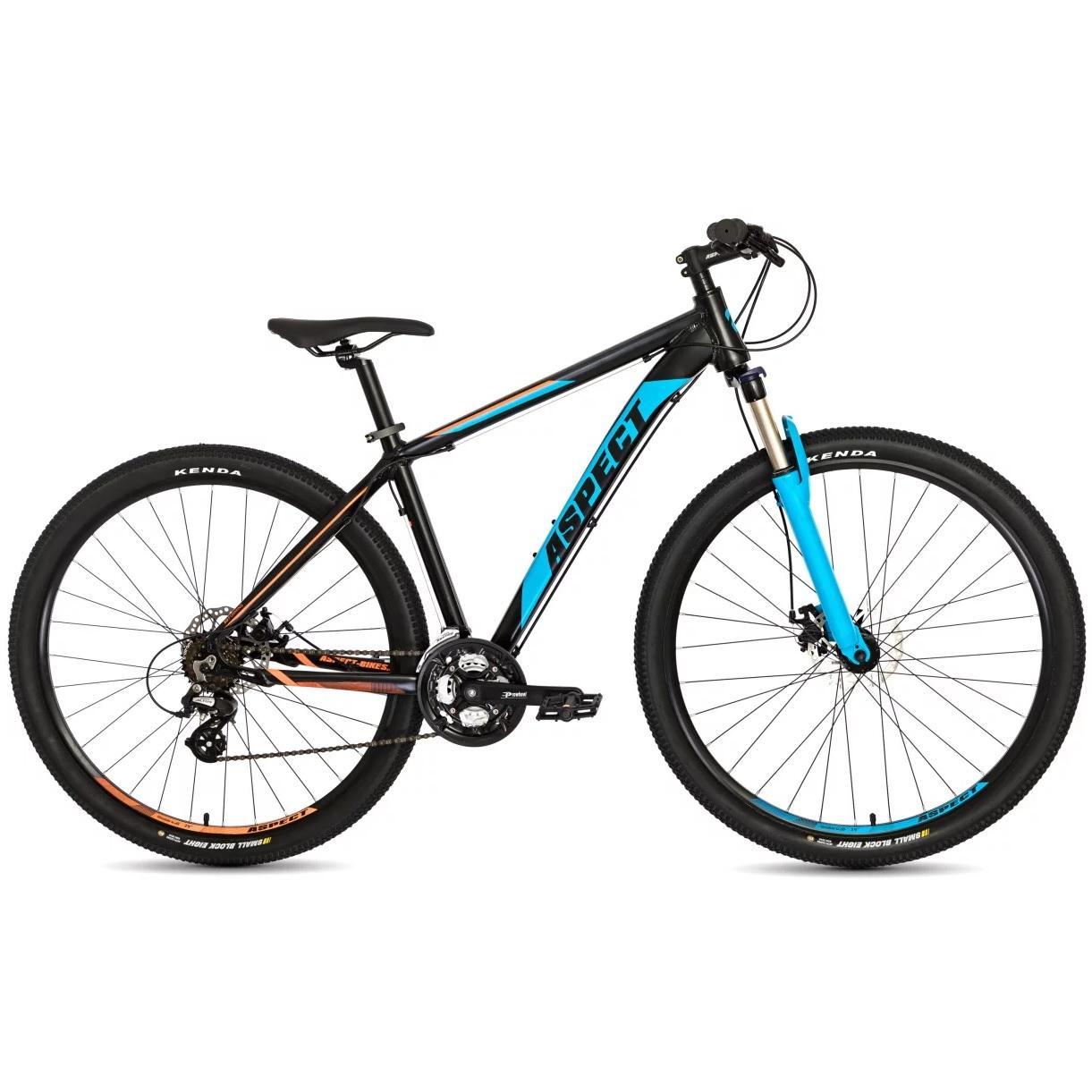 Велосипед Aspect Tundra 2018 Черно-Синий