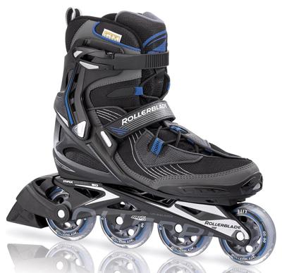 Купить Роликовые коньки Rollerblade 2012 SPARK 80 black/blue Ролики детские 786601