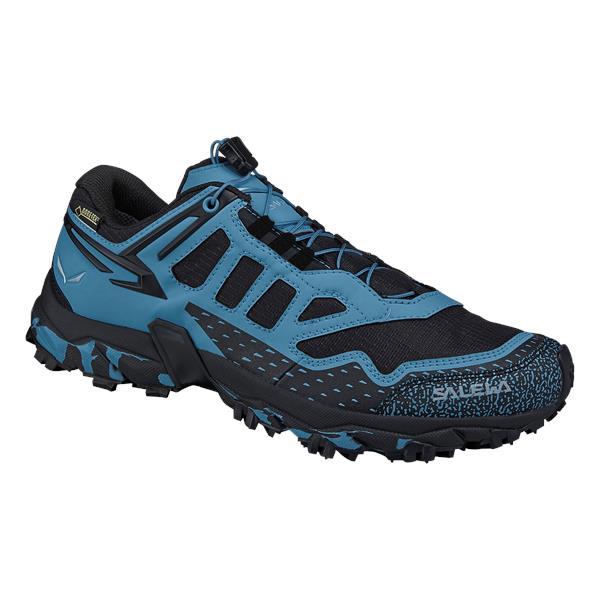 Купить Треккинговые кроссовки Salewa 2017 WS ULTRA TRAIN GTX Black/Blue Треккинговая обувь 1330042