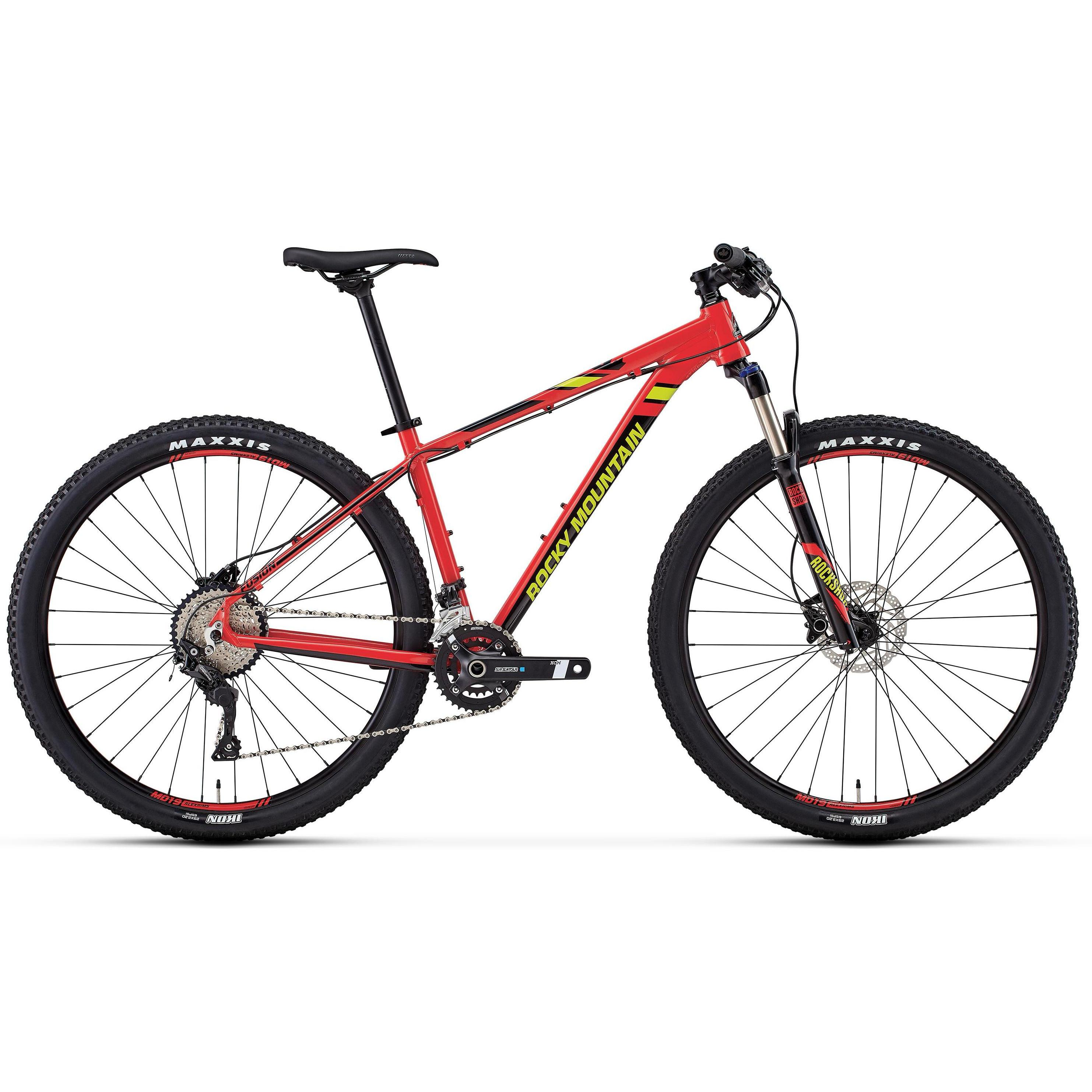Велосипед Rocky Mountain Fusion 40 2018 Red/green