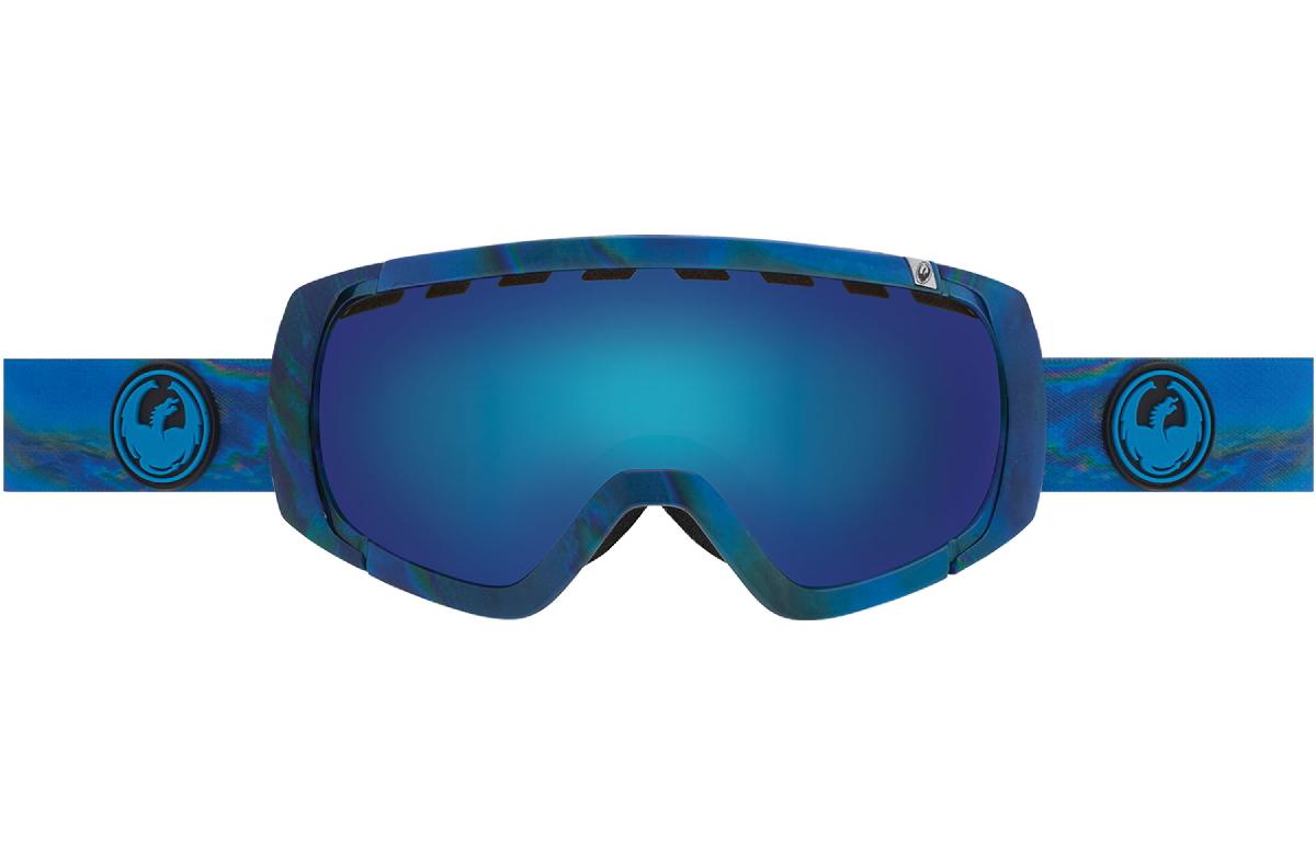 Купить Очки горнолыжные DRAGON 2015-16 ROGUE Spill / Blue Steel, Yellow Red Ion, горнолыжные, 1220925