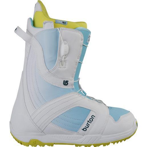 Купить Ботинки для сноуборда BURTON 2011-12 MINT WHITE/BLUE FADE, сноуборда, 761346
