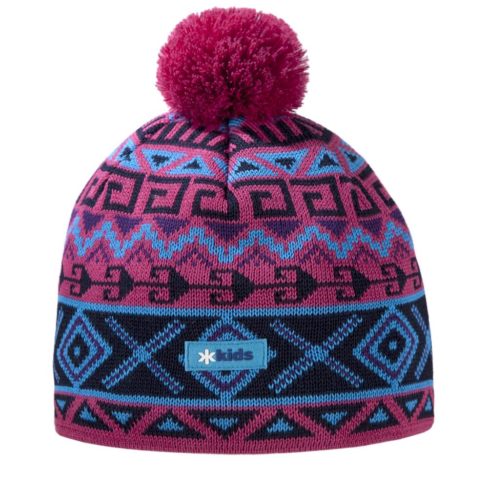 шапка kama для девочки, розовая