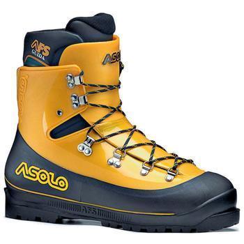 Купить Ботинки для альпинизма Asolo ALPINE AFS Guida Yellow-Black, Альпинистская обувь, 757433