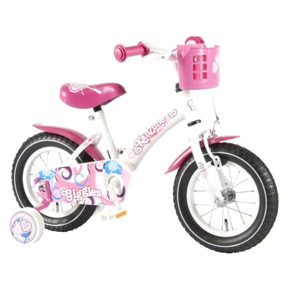 Велосипед Volare Giggles 12 Inch 2014 Белый/розовый