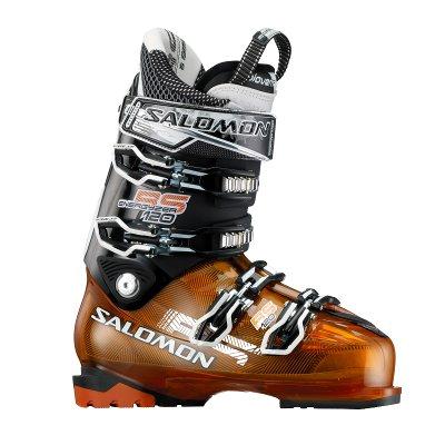 Купить Горнолыжные ботинки SALOMON 2012-13 RS 120 Orange Translu/Black, Ботинки горнoлыжные, 814208