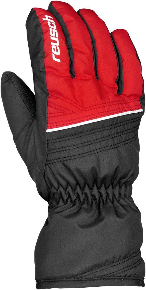 Купить Перчатки Горные Reusch 2017-18 Alan Junior Fire Red / Black, унисекс, Перчатки, варежки