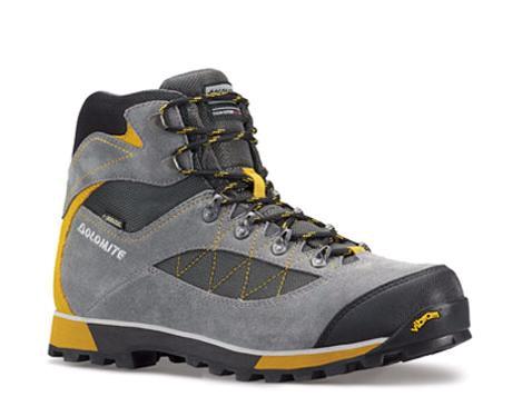 Купить Ботинки для хайкинга (высокие) Dolomite 2017-18 Zernez Gtx Gunmetal/Sunflower Треккинговая обувь 1188327