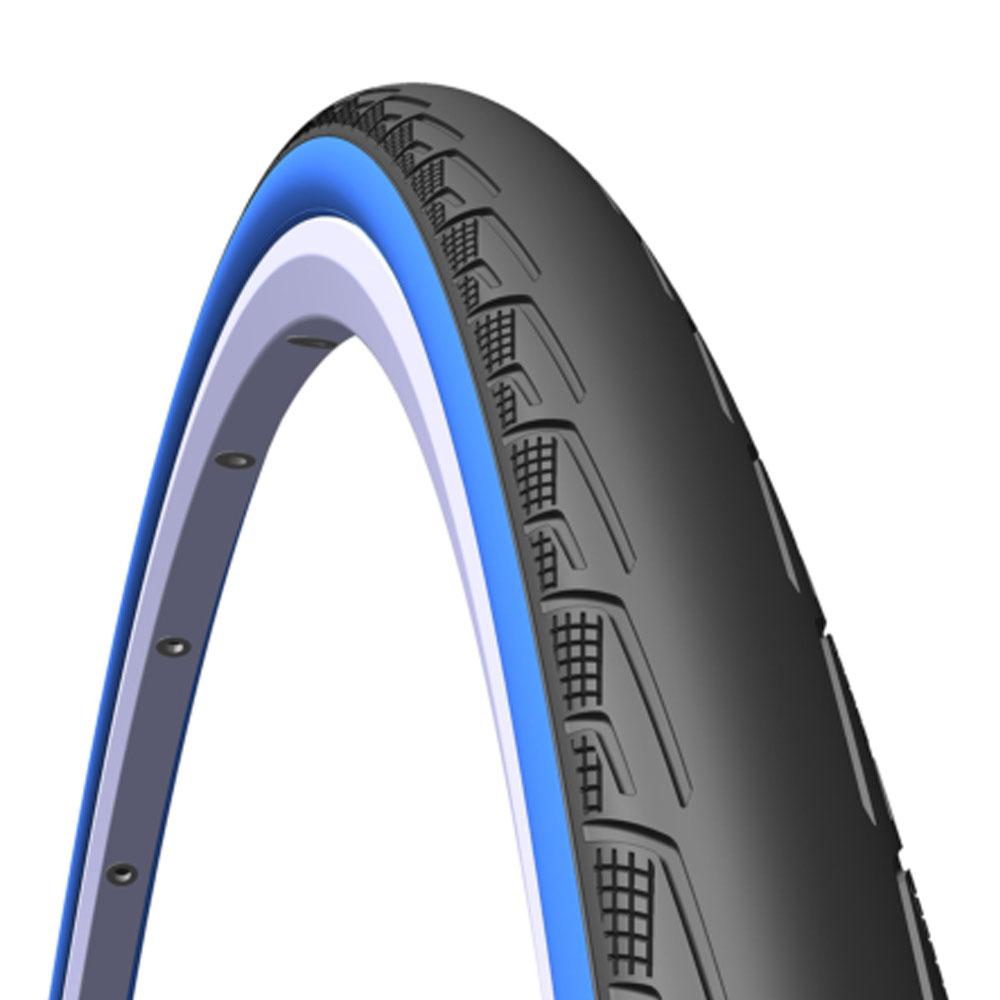 Велопокрышка Mitas V80 Syrinx 700 X 23C Черный/синий от КАНТ