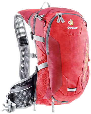 Купить Рюкзак Deuter 2013 Compact Air EXP 10 fire-cranberry Велорюкзаки 809509
