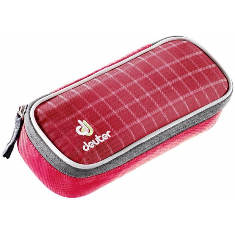 Купить Пенал Deuter 2017-18 Pencil Case raspberry check, Аксессуары, 1073687