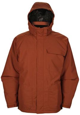 Купить Куртка сноубордическая RIPZONE 2013-14 CORE SWITCHBACK JACKET - X-DYED Copper, Одежда сноубордическая, 1023047