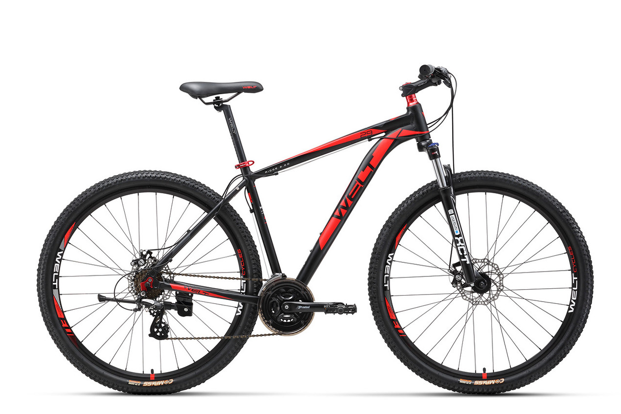 Велосипед Welt Ridge 2.0 D 29Er 2017 Matt Black/red