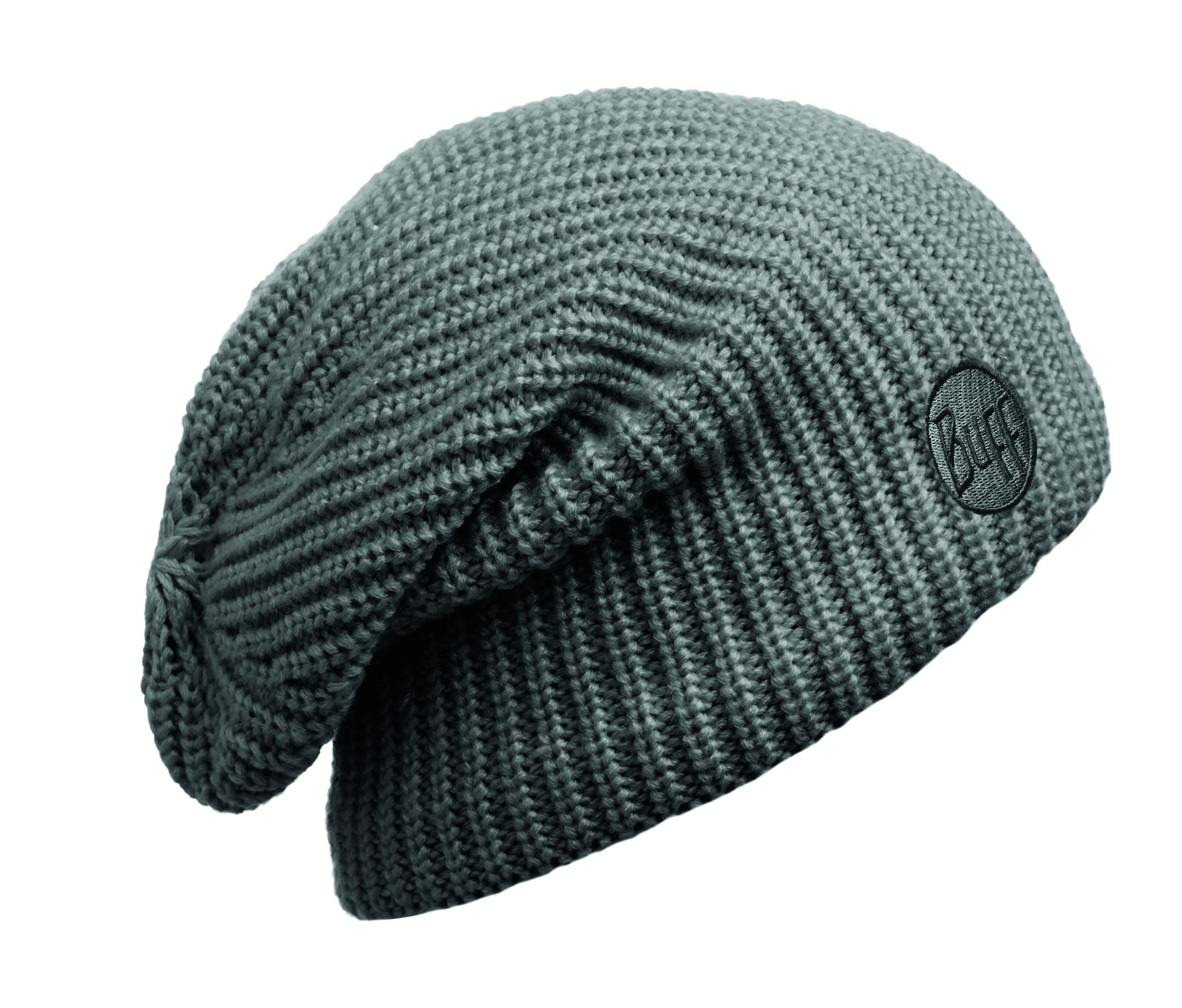 Шапка Buff Knitted & Polar Hat Buff Drip Graphite