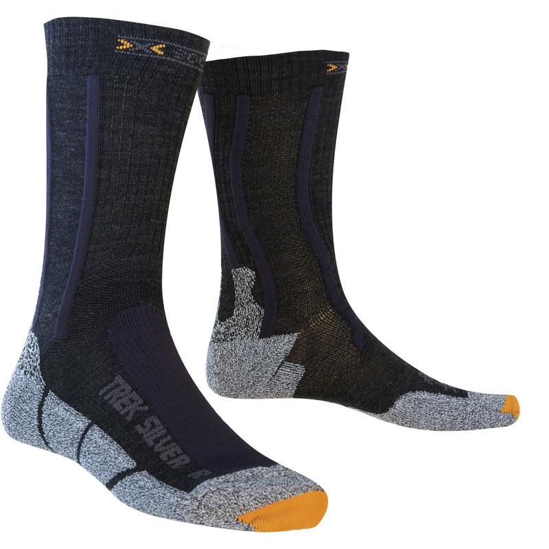 Купить Носки X-Bionic 2018 X-SOCKS TREKKING SILVER Черный, Носки, 1277656