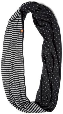 Купить Бандана BUFF TUBULAR INFINITY BLACK/GREY Банданы и шарфы Buff ® 763238
