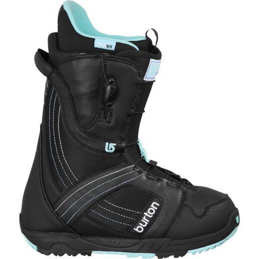 Купить Ботинки для сноуборда BURTON 2010-11 MINT black-white, сноуборда, 691300