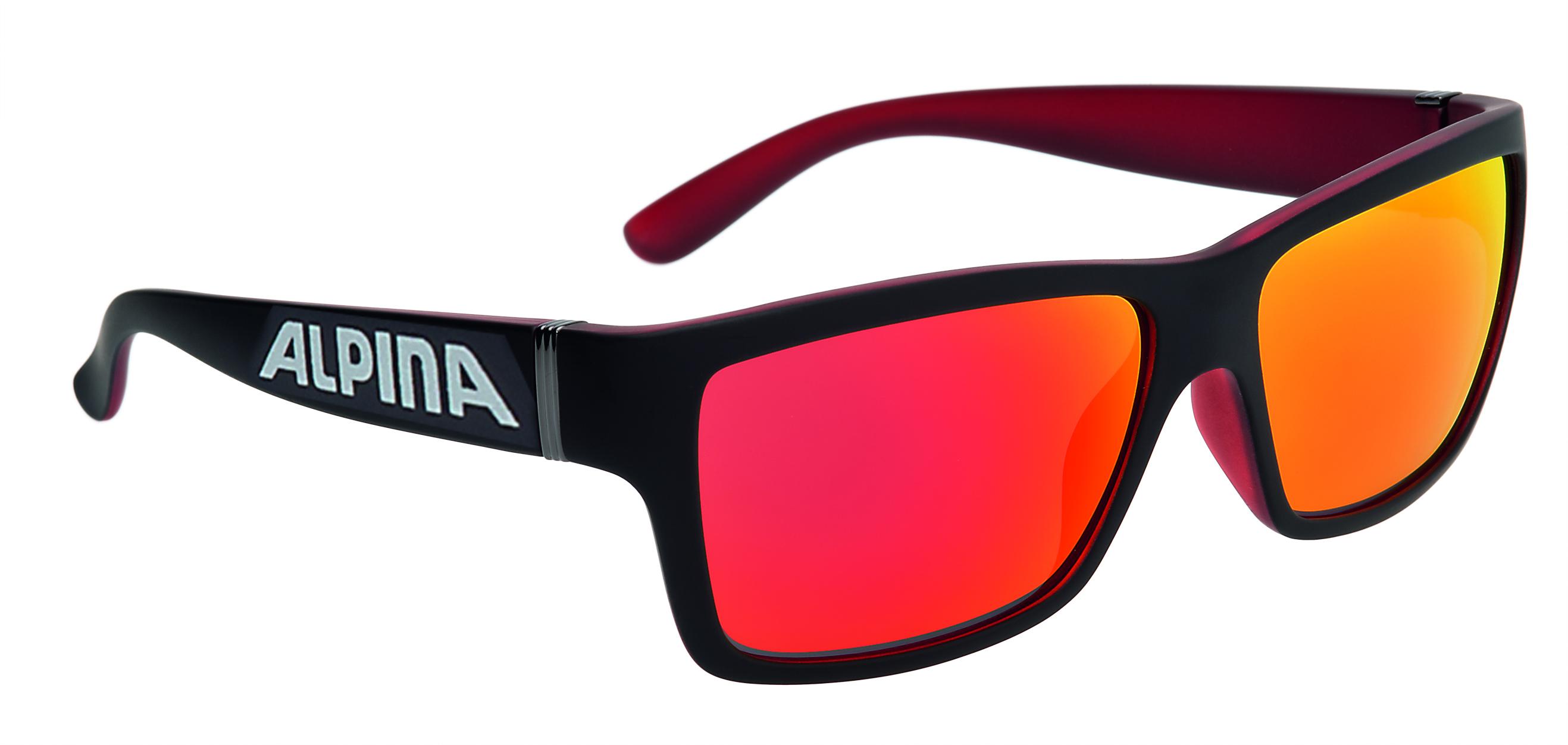 Купить Очки солнцезащитные Alpina 2017 KACEY PROMO black matt-red, солнцезащитные, 1323678