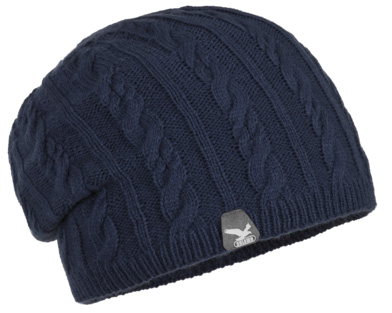 Шапка Salewa GROOCH KN SLOUCH BEANIE winter night