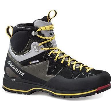 Купить Ботинки для треккинга (высокие) Dolomite 2018 Steinbock Approach Hp Gtx Black/Silver, Альпинистская обувь, 1015617