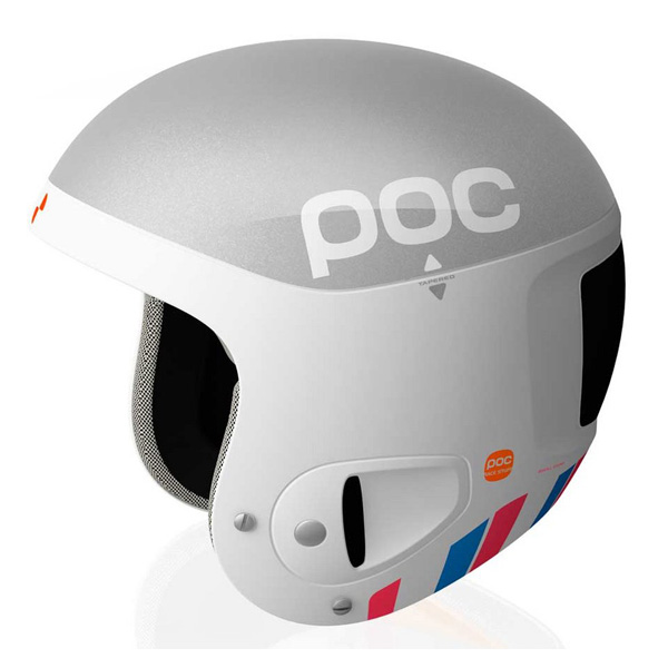 Зимний Шлем Poc Skull Comp Bode 2. Silver White