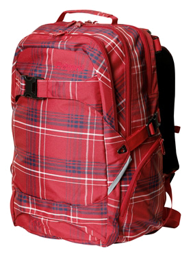 Купить Рюкзак Bergans XO 35L Checked, Red Рюкзаки школьные 1144848