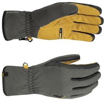 Купить Перчатки флис Salewa SUPERCAGUA PL GLV carbon/2450, Перчатки, варежки, 839950
