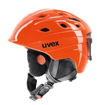 Зимний Шлем UVEX Funride 2 Orange Shiny