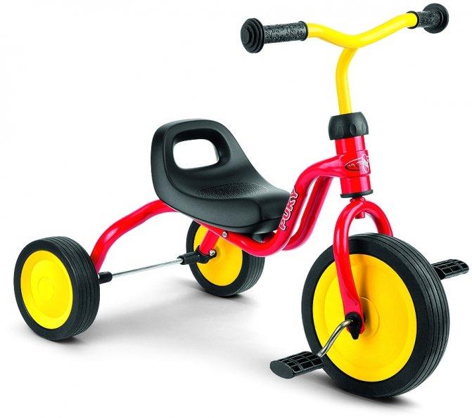 Велосипед Трехколесный Puky 2016 Fitsch Red