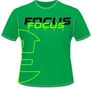 Футболка FOCUS 2014 CASUAL WEAR COLOR TEE MEN Limegreen