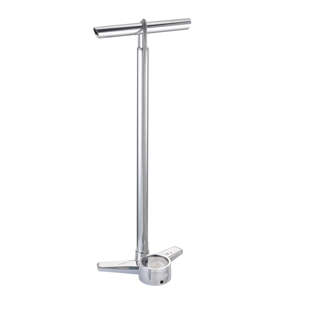 Насос Напольный Bbb Airblaster Polished Silver High Pressure Floorpump