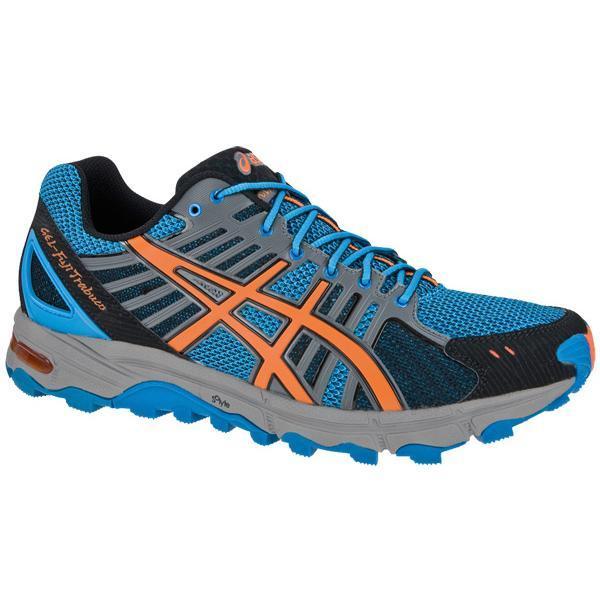 Купить Беговые кроссовки для XC Asics 2013 GEL-FujiTrabuco Голубой/Оранжевый/Чёрный Кроссовки бега 903482