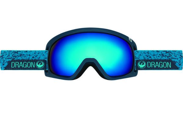 Купить Очки горнолыжные DRAGON 2016-17 D3 Stone Blue / Dark Smoke Blue, горнолыжные, 1299457