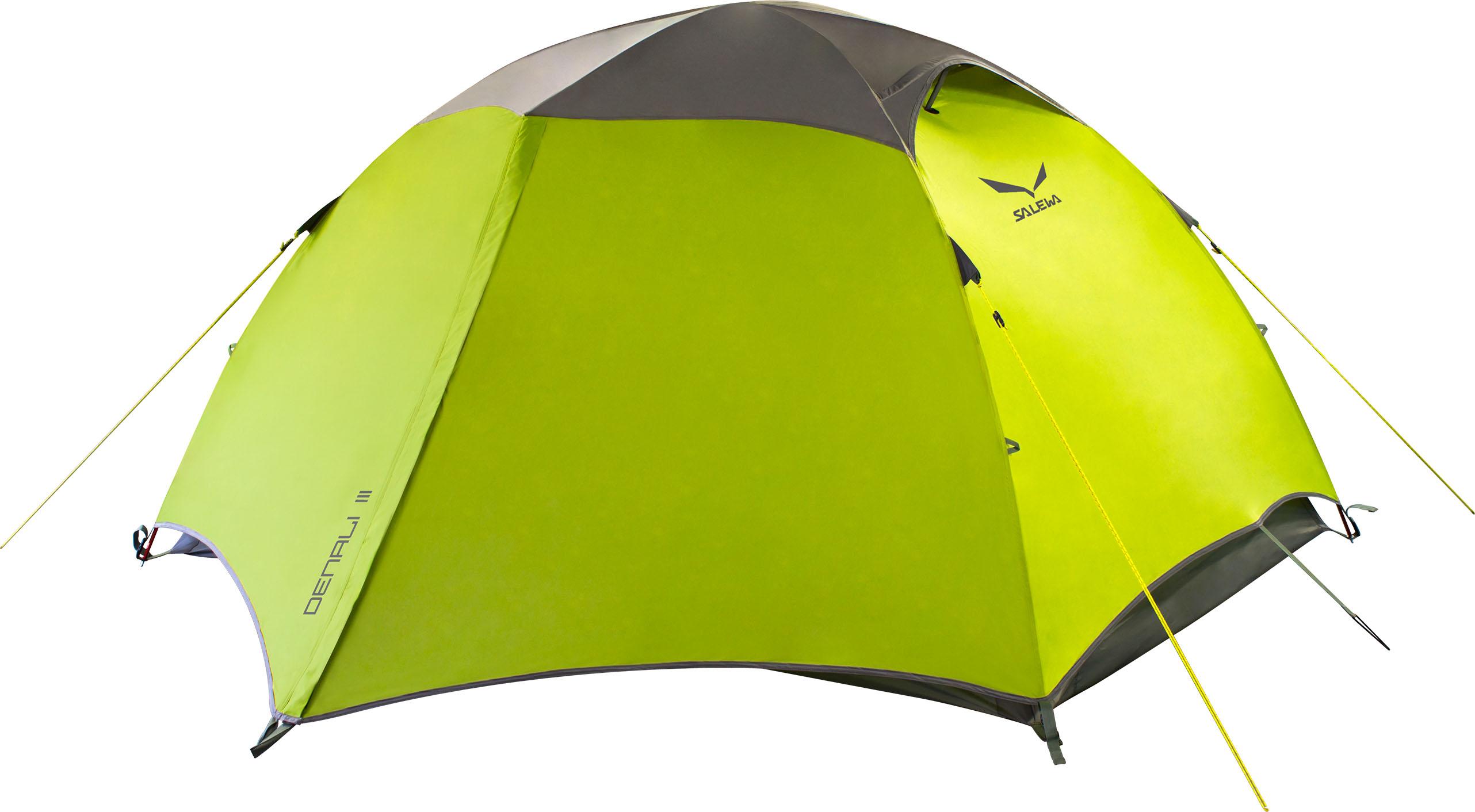 Купить Палатка Salewa Mountain DENALI III TENT CACTUS/GREY /, Туристические палатки, 1167254