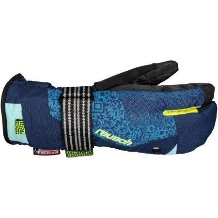 Купить Перчатки горные REUSCH 2013-2014 MEN BOARD PROTECTION Reusch Drop In R-TEX XT dress blue / neon yellow Перчатки, варежки 1026156