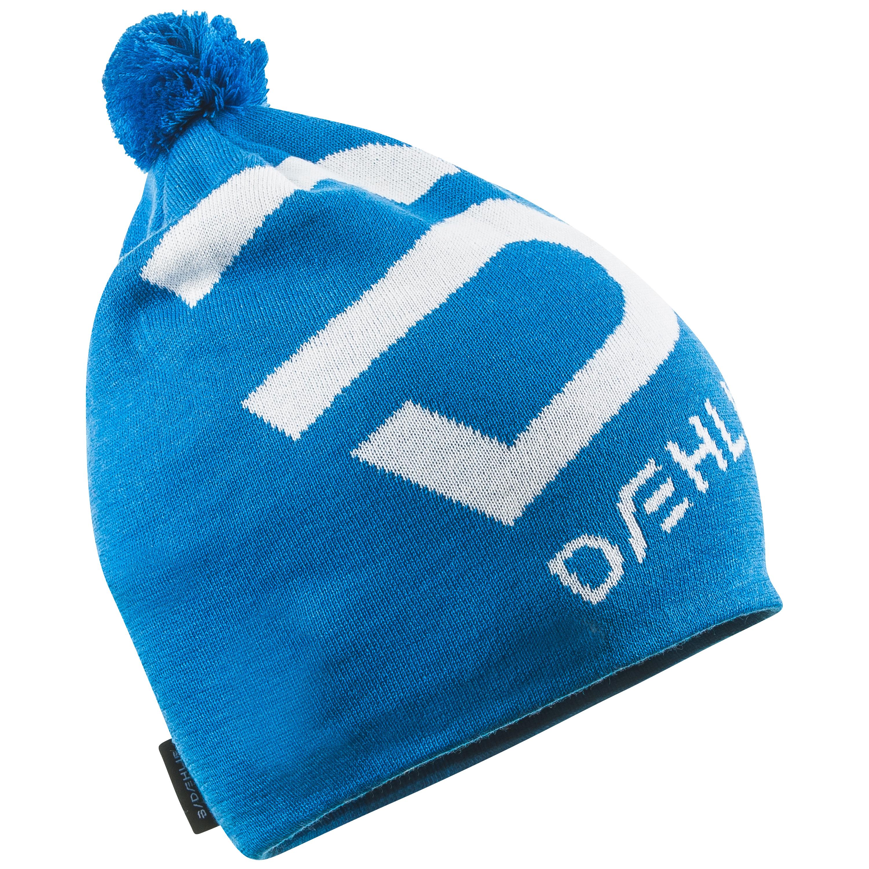 женская шапка bjorn daehlie, синяя